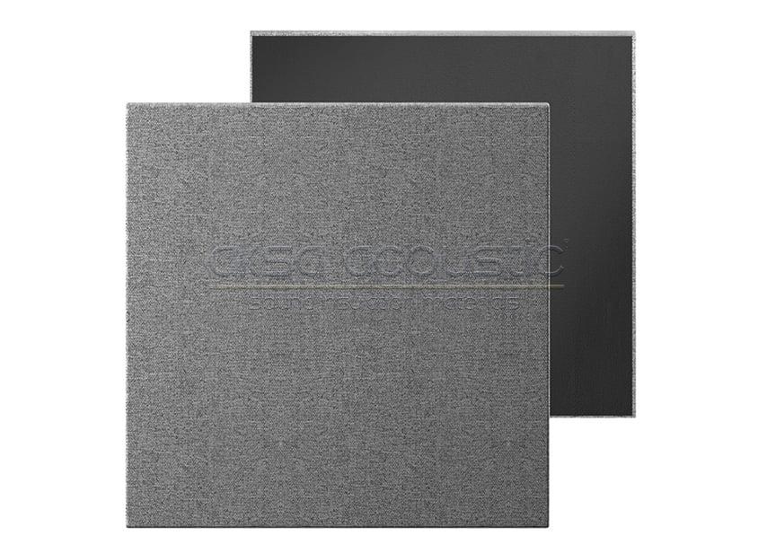 kare akustik kumaş kaplı panel