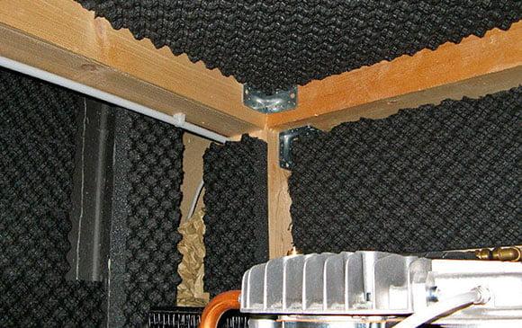 kompresör odası ses izolasyonu