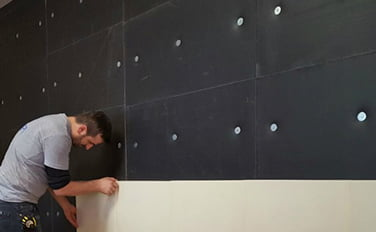 korku evi duvar kaplama
