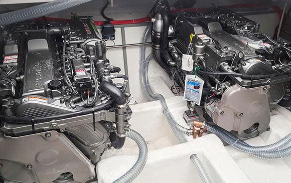 marin tekne motoru ses izolasyonu