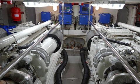 marin tekne motoru ses yalılımı
