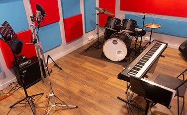 müzik odası duvar kaplama
