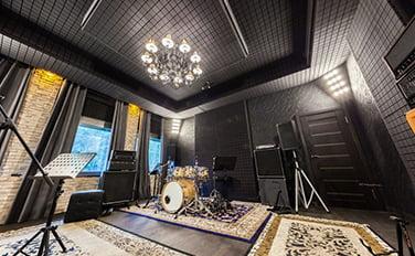 müzik odası tavan kaplama