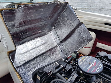 tekne motoru ses izolasyon malzemeleri