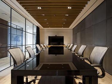 toplantı odası ses izolasyonunda kullanılan malzemeler