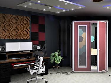 vocal odası akustik ses izolasyonu