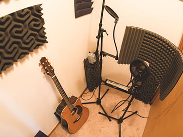 vocal odası ses izolasyon malzemeler