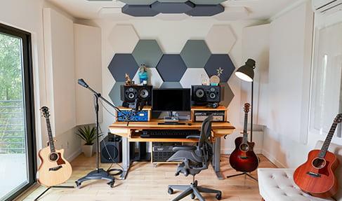 vocal odası ses izolasyon malzemeleri