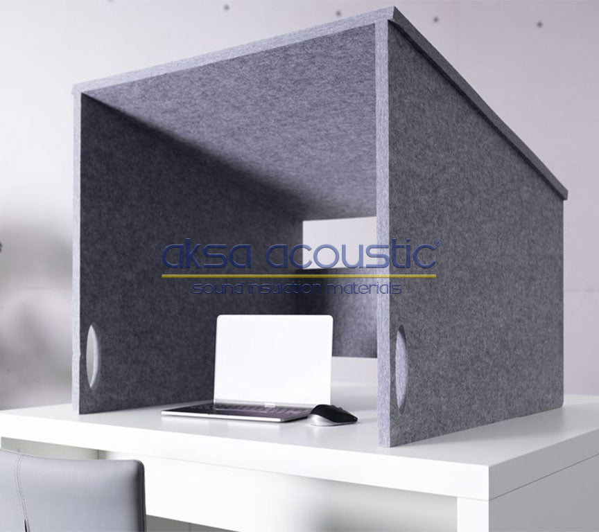 acoustic felt table seperators