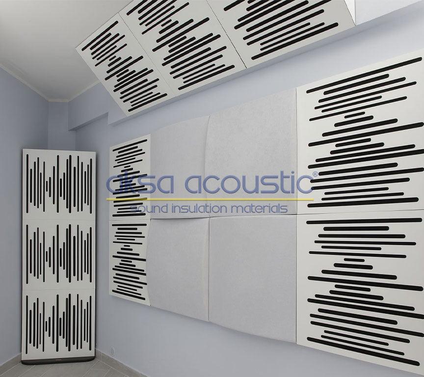 akustik difüzör basstrap panel