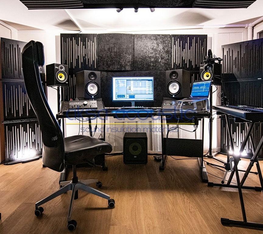 akustik difüzör panel stüdyo paneli
