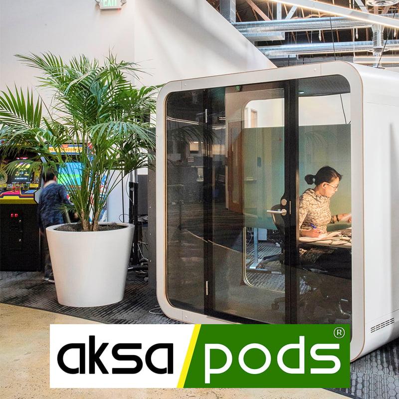 aksapods akustik ofis kabinleri