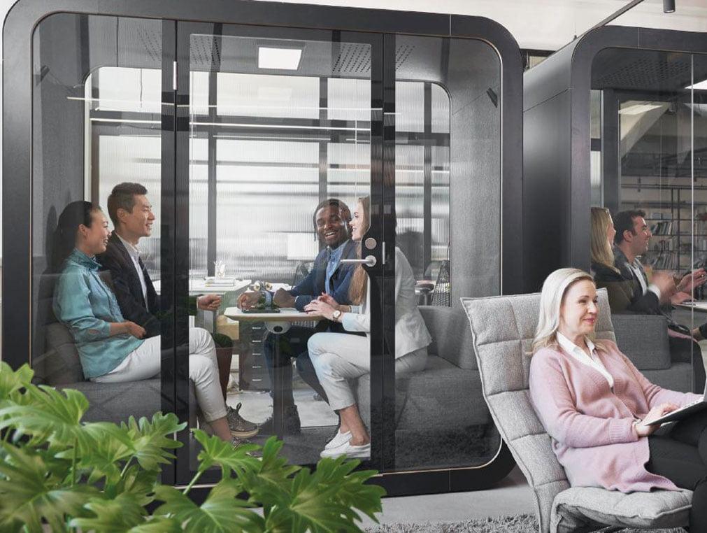 aksa pods kabincell çalışma kabini