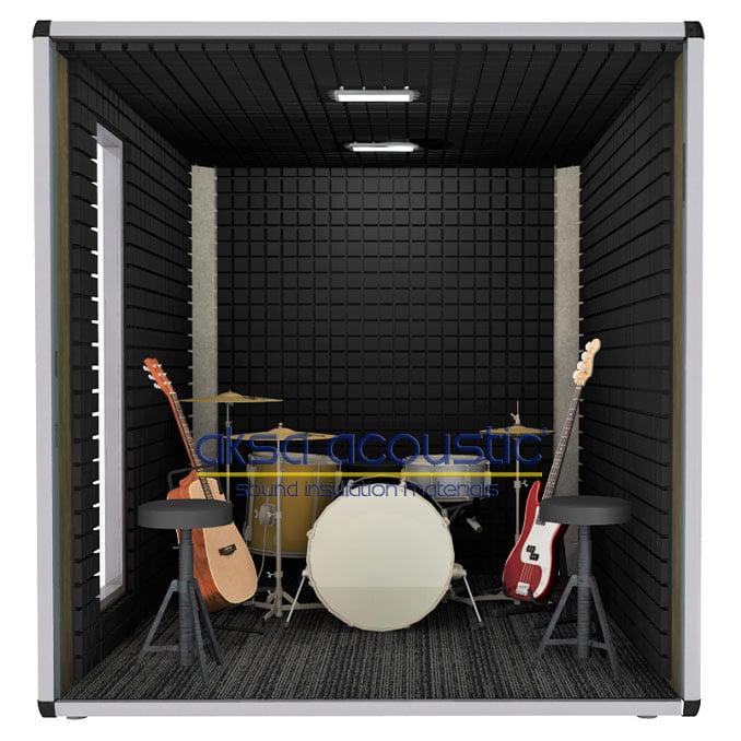 akustik müzik enstrüman stüdyo kabini