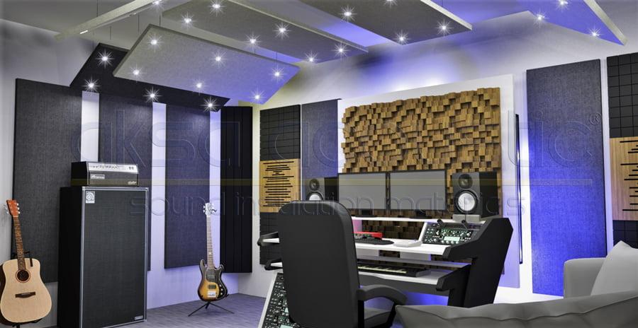akustik ahşap difüzör panel