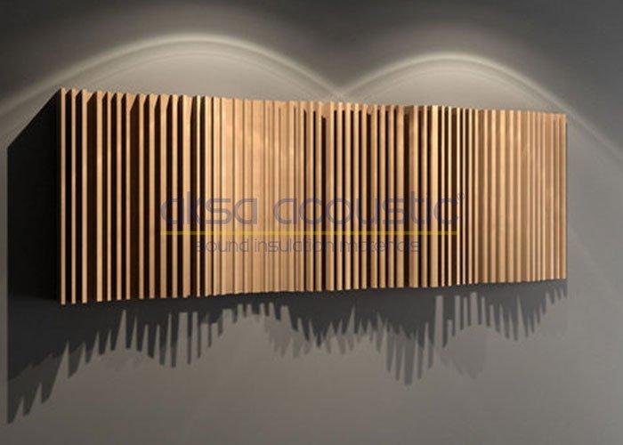akustik ahşap difüzör panelleri fiyatı