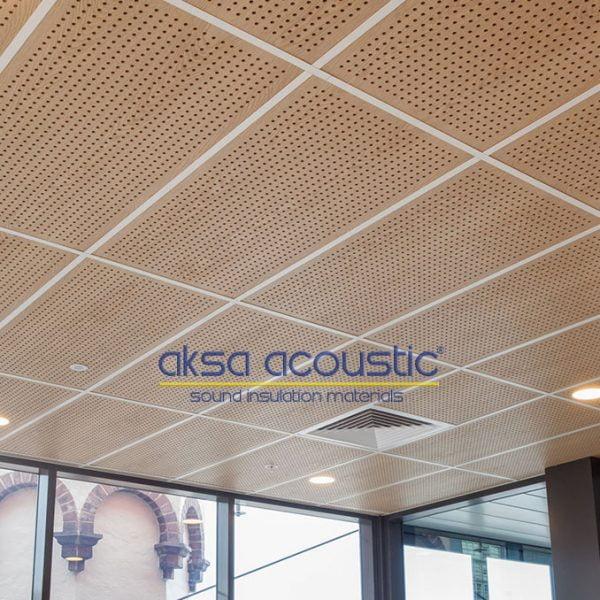 akustik ahşap duvar tavan paneli