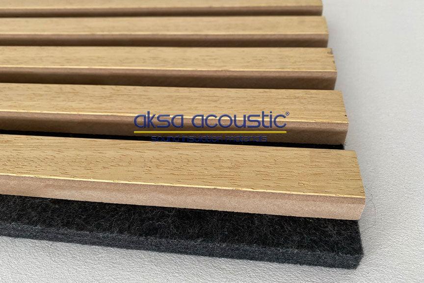 akustik ahşap panel keçe panel