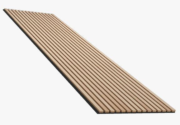 akustik ahşap panelli polyester keçe paneli