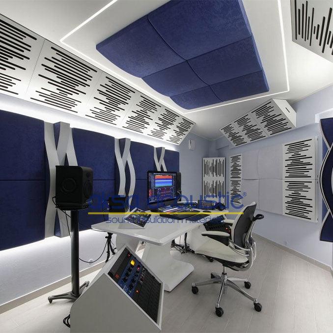 akustik ahşap stüdyo paneller