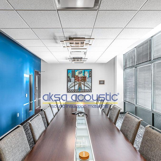 akustik asma tavan panelleri