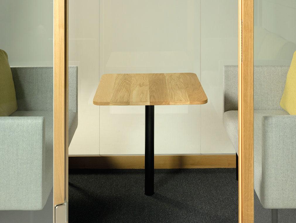 akustik çalışma masası ofis kabini