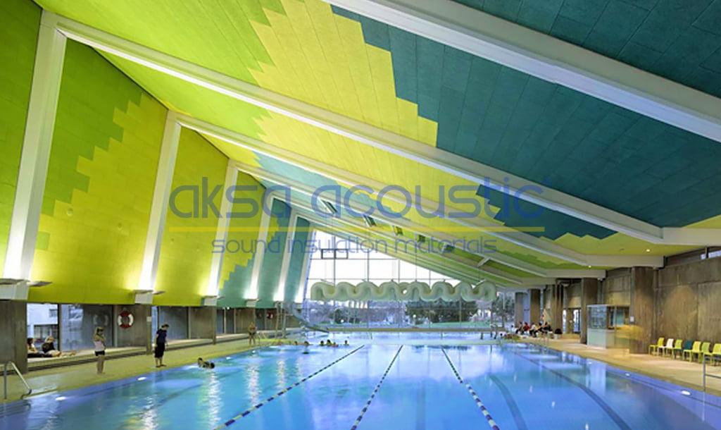 akustik düzenleme tavan paneli