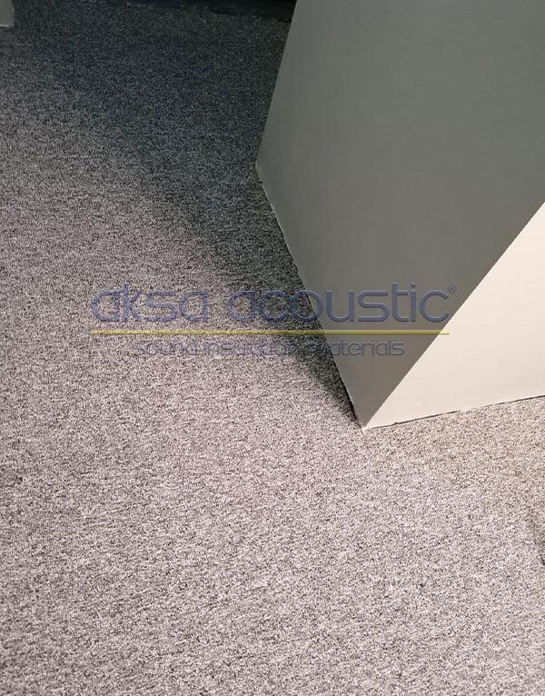 akustik halı ses yalıtımı malzemesi