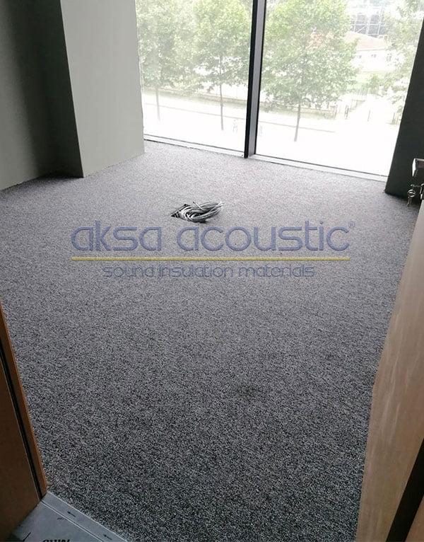 akustik halı ses yalıtımı