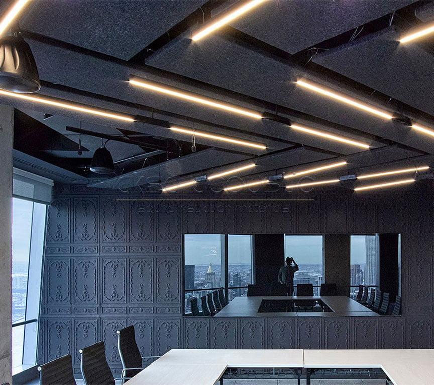 akustik keçe tavan kaplamaları