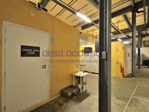akustik kontrol odası ses yalıtımı kapısı