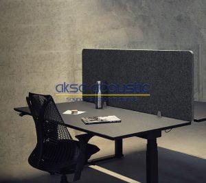 akustik masa bölücü polyester panel