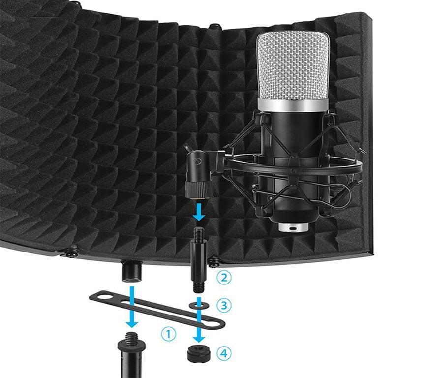 akustik mikrofon paneli özellikleri