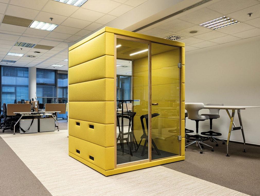 akustik ofis çalışma kabini