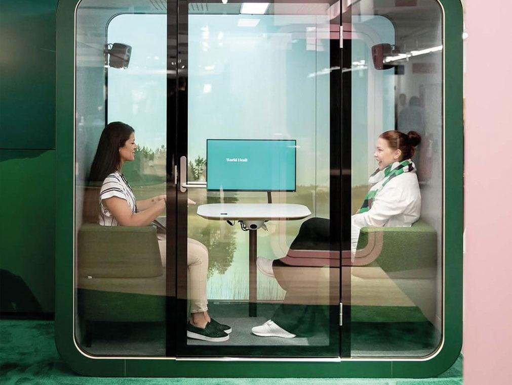 akustik ofis çalışma kabinleri