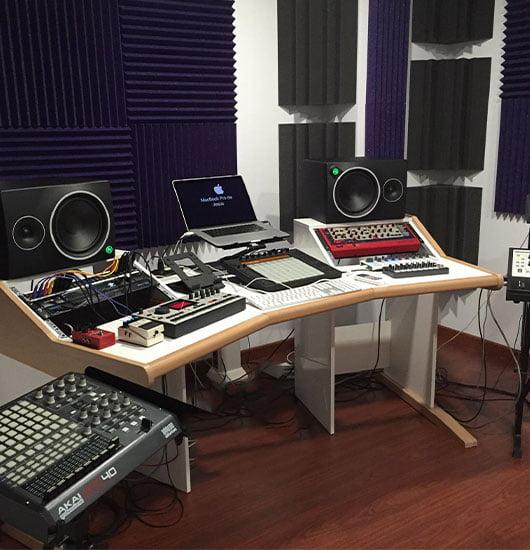 akustik renkli stüdyo süngeri