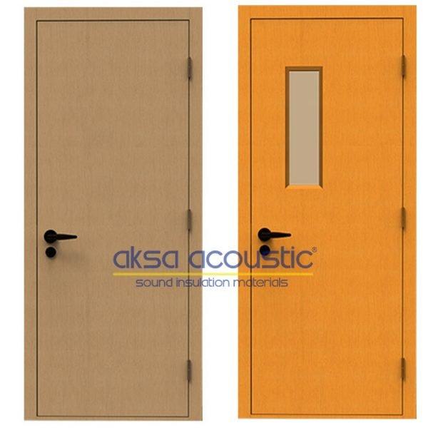 akustik ses geçirmez yalıtımlı kapı