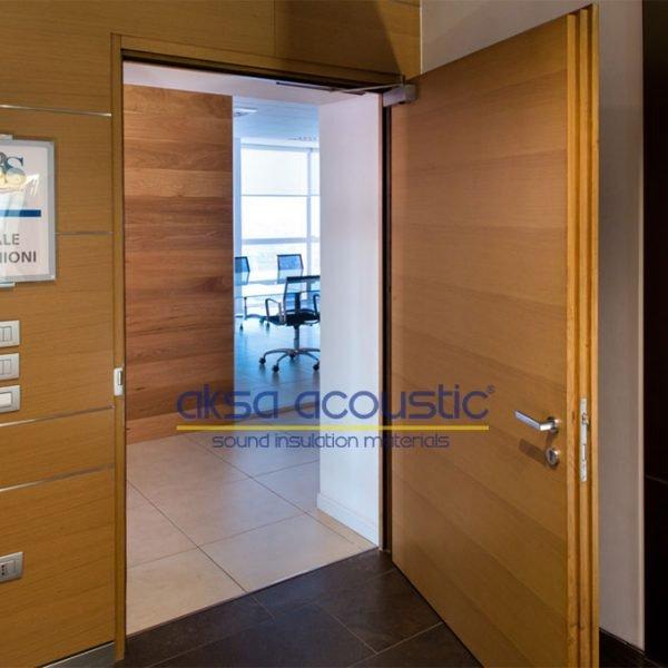 akustik ses geçirmez yalıtımlı kapı fiyatları