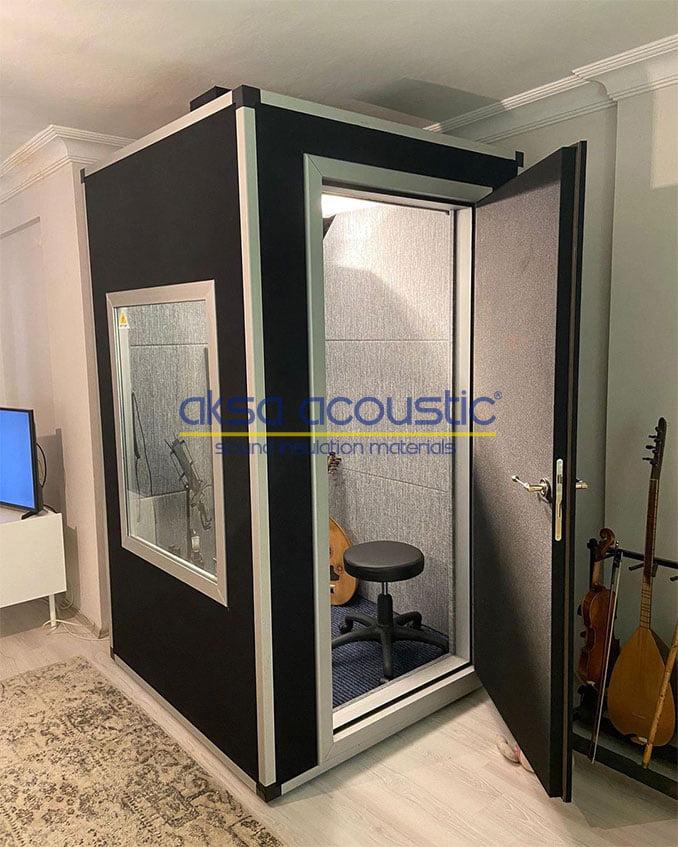 akustik ses kayıt kabinleri vokal kabini fiyatları