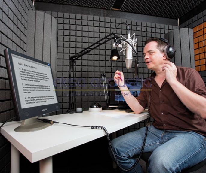 akustik ses kayıt stüdyo kabinleri
