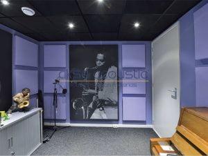 akustik stüdyo odası kapıları