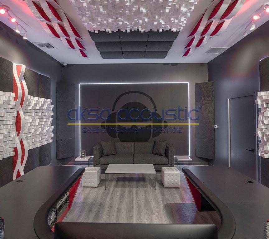 akustik stüdyo reji odası ses yalıtımı panelleri