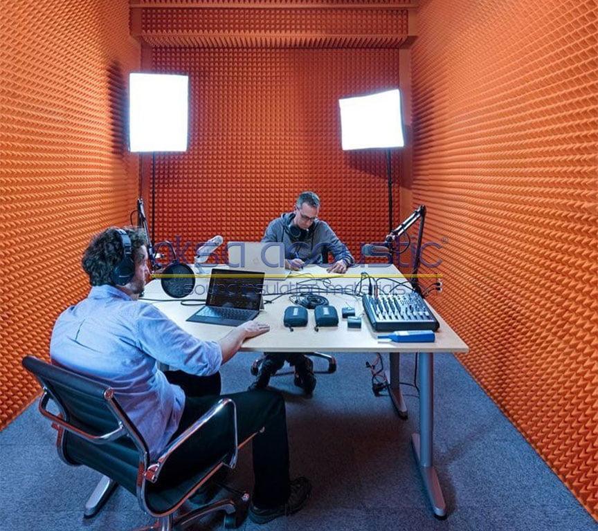 akustik stüdyo reji odası süngeri