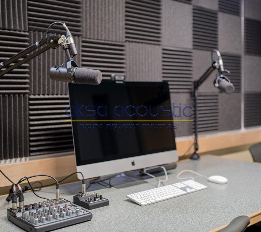 akustik stüdyo ses kayıt düzenleme