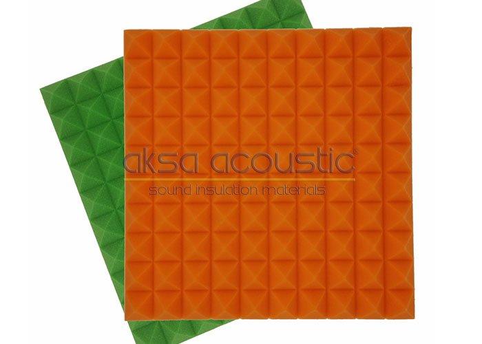 akustik tekno touch renkli sünger stüdyo paneli