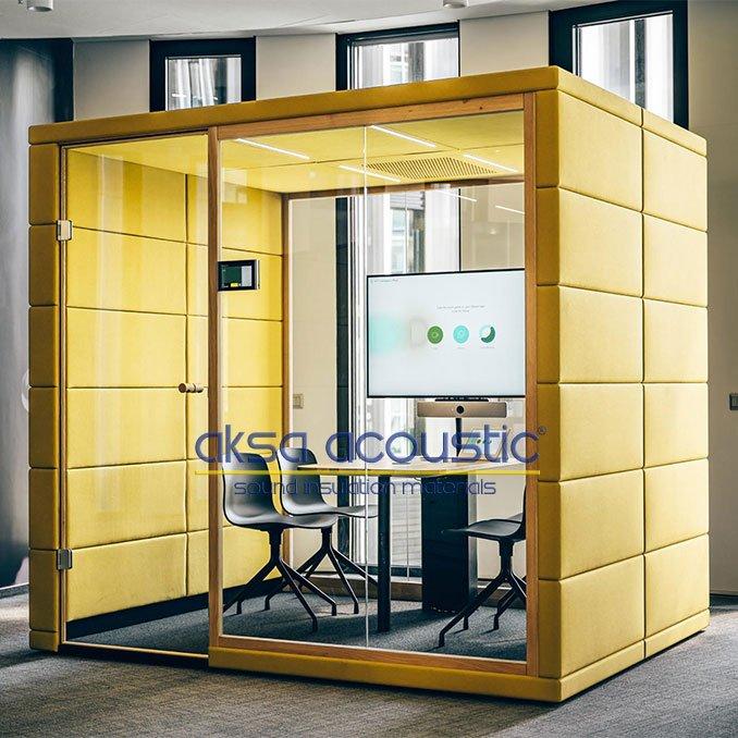 akustik toplantı kabini