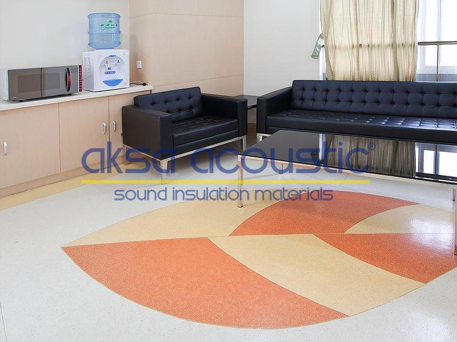 akustik zemin kaplama pvc zemin