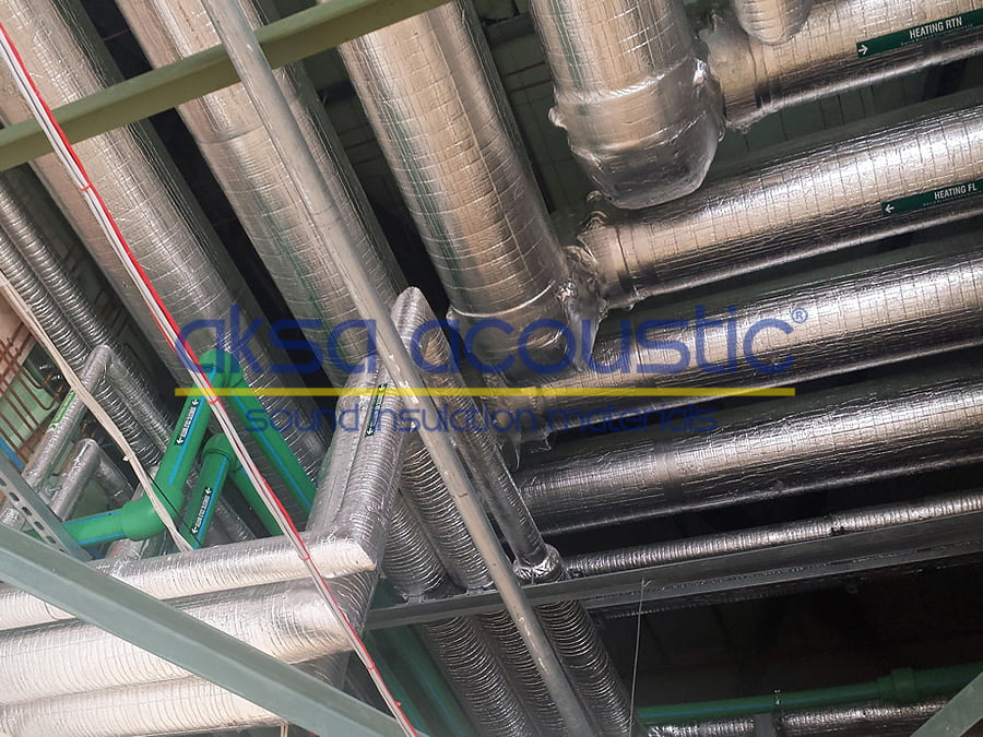 kaput altı aluminyum folyo