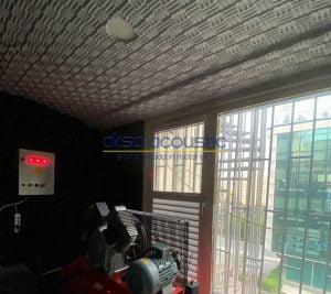 bariyerli basotect süngerpan tavan ses yalıtımı