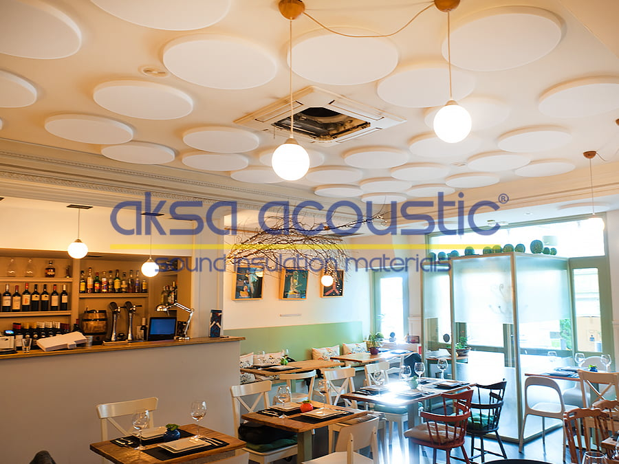 basotect sünger ve mekan akustikleri